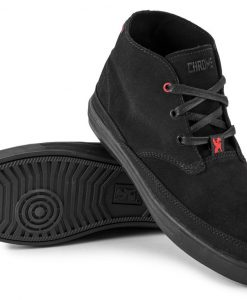 5f4f6e023 Chrome Industries Forged Suede Chukka Boot Black Black tenisky - Outfiter.sk